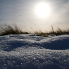 sunlight on snow (Jon Downs) Tags: blue sky orange cloud sun white snow black blur color colour art colors grass yellow digital canon downs creativity photography eos photo jon flickr artist colours photographer image creative picture pic photograph 7d brow jondowns