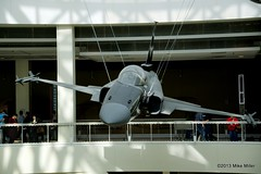 Northrop F-20 Tigershark (mikepmiller) Tags: ca museum plane losangeles fighter military jet expositionpark californiasciencecenter northrop tigershark f20
