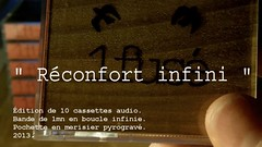 "1fus  "" Rconfort infini "" (after Annie Abrahams) (1fus) Tags: france cherry loop montpellier boucle cassette infinite bois woodburning k7 infinie pyrogravure merisier annieabrahams 1fus"