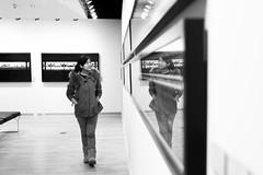 31/365 (Renee Zhou) Tags: white black reflection adam exhibition symmetry syracuse su blacknwhite magyar asiangirls lightwork blackwhitephotos