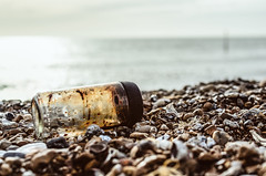 (Damien Cox) Tags: uk beach glass nikon stones pebbles jar sigma30mmf14exdchsm damiencox d7000 dcoxphotographycom