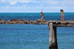 Take a flying leap...Horseshoe Bay Pt Elliot South Australia....(Explored) (Jak 45) Tags: