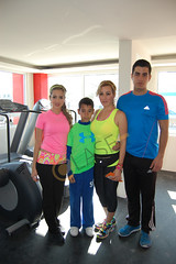 DSC_0515.JPG Aranza Sisniega, Jason Sisniega, Mónica López y Manuel Sisniega administradores de ¨The One Gym¨