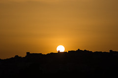 The Light of the World (Ged Slaughter Photography) Tags: sun sunset sciacca sicily italy sicilia italia orange church landscape gedslaughter travel mediterranean