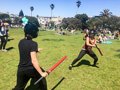 IMG_1235 (khwken) Tags: axion sword swordsmanship fitness cardio martial arts detox sf doreles foam foamsword