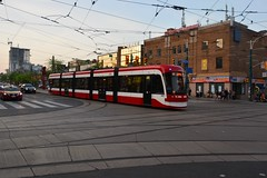 Canada 2016 – Toronto – Flexity Outlook (Michiel2005) Tags: flexityoutlook dundasstreetwest spadinaavenue dundasspadina tram streetcar rails toronto ontario canada 4415 ttc torontotransitcommission