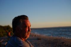 DSCF6886 (dltree76) Tags: man oldman grandad granddad grandfather ocean sea seaside coast lake sun sunset sandsurf dusk water shore beach sand wave surf wind summer coastal river outdoors nature dunes dune georgianbay wasagabeach bay august