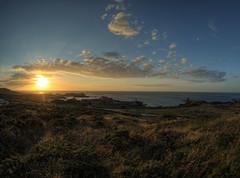 Sunset Over Alderney (neilalderney123) Tags: 2016neilhoward alderney samyanf fishie fisheye landscape sunset clouds