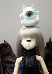 Doku Paradise Cyclops (Damasquerade) Tags: bjd dokuparadise doll cyclops hybrid 2ddoll 14 msd sy body hemeramaru fingertipdreamland familiar cat souldoll devonia