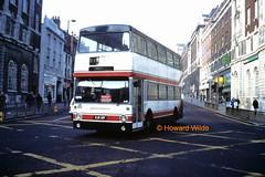 Taylor, Morley KJD 12P (SelmerOrSelnec) Tags: taylor morley daimler fleetline mcw kjd12p leeds headrow bus londontransport dms westernscottish