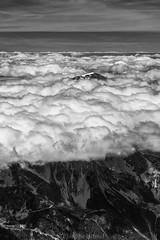 Above the world... (Philippe74160) Tags: blackwhite chamonix cloud