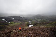 Iceland (Neza Peterca) Tags: landmannalaugar laugavegur iceland highlands outdoor trekking trek mountain hotspring landscape hiking ryholite glacier volcano moss snow rivercrossing river lake alftavatn