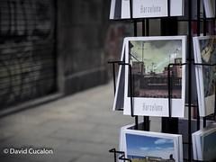 Postal from the Street (David Cucaln) Tags: davidcucalon cucalon barcelona postal bokeh desenfoque streetphotography calles ciudades city firstplane primerplano graffitti