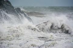 Storm August 2016 (gopper) Tags: ngc storm pwllheli gimblet stormy wet windy wales welsh weather gwynedd rough sea seaweed nikon d7100 snowdon snowdonia abersoch llanbedrog abererch llyn lleyn
