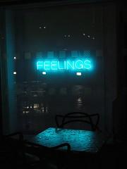 feelings (Eli Modje) Tags: neon night rain dark blue feelings urban