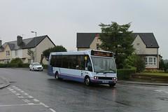 First Glasgow - TU04 TRU (53204) (MSE062) Tags: truronian cornwall devon somerset avon glasgow scotland single decker bus optare solo 53204 tu04tru tu04 tru m950 low floor england