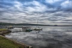 Saratoga Lake (Jim Watkins Landscape Photography) Tags: saratoga newyork saratogalake lake water boat