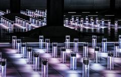Addiction (thewhitewolf72) Tags: lampen licht bahnhof drehung berlin abstrakt hauptbahnhof leuchten wow