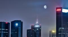 moon_skyline (Ralf Pelkmann) Tags: frankfurt moon hdr night
