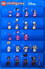 Srie Disney (Pasq67) Tags: lego minifigs minifig minifigure minifigures afol toy toys flickr pasq67 disney pixar stitch aladdin alice donald duck mickey mouse ursula ariel buzz daisy peterpan