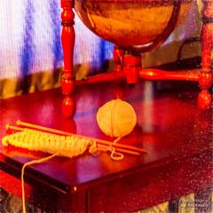 Knitting (Jay Mac 3) Tags: canturbury topazimpression2 prudencecrandallmuseum connecticut topazsimplify4 topazdenoise canterbury unitedstates us