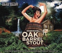 Dominion Oak Barrel Stout 6-pack packaging (FranMoff) Tags: pinup beer pinupgirl packaging olddominion stout dominion oakbarrel 6pack sixpack