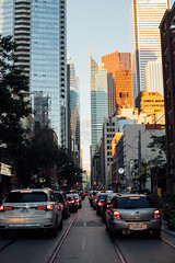 Toronto (TIA ZHANG) Tags: street toronto rushhour sunset city night buildings canada
