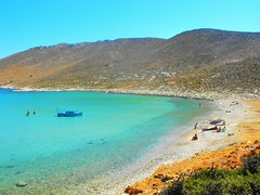 a place you can call heaven on Earth (M Lamprinos) Tags: greece dodecanese island kalymnos pserimos beach vathis heaven earth beautiful summer sea sandy remoted boat mountains vathi sand water emerald clear relax chill vocations