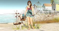 BRB - Beach Right Beach (Imaginarium Poses & http://thegoodgorean.blogspot.) Tags: cutepoison enchantment luas mag3b mayssoul phoenix theforge