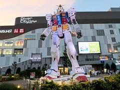 Gundam at Odaiba (blitzrick) Tags: japan tokyo odaiba gundam gx7mk2 robot