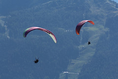 Tandem Paragliding Verbier (MattLawrence) Tags: paraglide paragliding tandem valais verbier switzerland alps