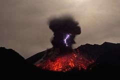 Sakurajima: volcanic lightning (Marc Szeglat) Tags: aschewolke blitz eruption japan lava lavafontne magma sakurajima vulkan vulkanausbruch vulkanismus vulkankegel vulkankrater vulkanologie vulkanischerblitz