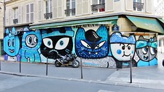 Chanoir / Paris - 29 jul 2016 (Ferdinand 'Ferre' Feys) Tags: paris france streetart artdelarue graffitiart graffiti graff urbanart urbanarte arteurbano chanoir