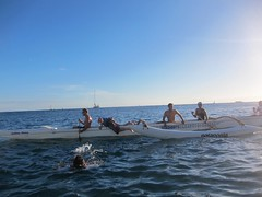 IMG_6810 (nautical2k) Tags: waikikibeachboys paddling outrigger canoe diamondhead honolulu oahu