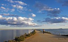 Atardecer en Carr. Camino Quintin (Fotgrafo-robby25) Tags: atardecerenelmarmenor fujifilmxt1 gente lopagnmurcia marmenor nubes salinasyarenalesdesanpedrodelpinatar