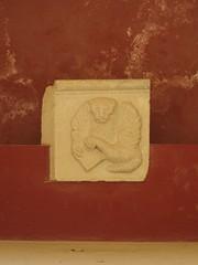 Corfu: Old Fortress - Venetian Bas-Relief (escriteur) Tags: img6579 greece corfu κέρκυρα oldfort oldfortress fort fortress παλαιόφρούριο venetian marble carving sculpture relief basrelief lion wingedlion venetianlion lionofstmark lionofsaintmark