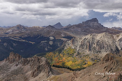 Colors Under Uncompahgre (From The High Country) Tags: fromthehighcountry fall fallcolors fallfoliage autumn aspens mountains 14er colorado rockymountains