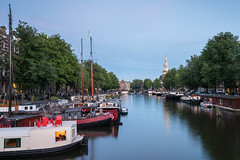 Summer in the city (McQuaide Photography) Tags: amsterdam noordholland northholland netherlands nederland holland dutch europe sony a7rii ilce7rm2 alpha mirrorless 1635mm sonyzeiss zeiss variotessar fullframe mcquaidephotography adobe photoshop lightroom tripod manfrotto light licht dusk twilight bluehour longexposure stad city capitalcity urban lowlight architecture outdoor outside old oud gracht traditional authentic water reflection waterfront waterside canal colour colours color tourism touristattraction travel waalseilandgracht binnenkant boat houseboat woonboot wideangle groothoek calm relaxing peaceful tranquil moored harbour montelbaanstoren summer evening avond zomer