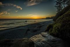 Sunset (photobydave@gmail.com) Tags: sunset pacificocean straitsofjuandefuca sandcutbeach suncutfalls sandcutcreek beach dusk vancouverisland britishcolumbia canada pacificnorthwest seascape landscape lastlight olympicpeninsula sky cloud