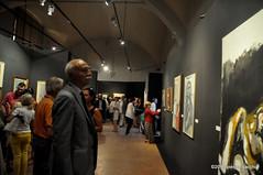 M9090219 (pierino sacchi) Tags: castellovisconteo il900 inaugurazione mostra museicivici pittura sindaco