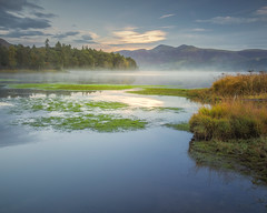 Change of Seasons (Vemsteroo) Tags: derwentwater derwent water lake mere mist morning dawn sunrise still atmospheric ethereal skiddaw canon 5d mkiii 2470mm leefilters circularpolariser nature landscape waterscape lakedistrict cumbria keswick lovegreatbritain bluehour outdoors exploring