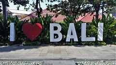 I heart Bali (SqueakyMarmot) Tags: travel asia indonesia bali 2016 seminyak sign seminyaksquare