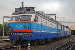 VL80SK-177 (zauralec) Tags: kartaly depot депо карталы ржд rzd локомотив поезд электровоз vl80sk вл80ск vl80sk177 177 вл80ск177