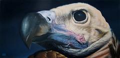 BUITRE 1 oleo 100 x 50 (emy mariani) Tags: art paint arte canvas horror pintura cuadros oscuridad