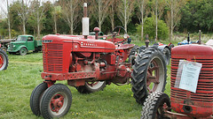 Farmall M Tractor. (Hugh McCall) Tags: barley countryside cattle sheep diesel wheat farming grain gas international petrol hay oats plowing dealership harvester mccormick implements ploughing deering cultivating