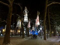 Congress Square with Christmas lights, Ljubljana, Slovenia (Paul McClure DC) Tags: historic slovenia ljubljana slovenija dec2012