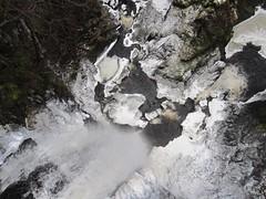 Plodda Falls (Inverness Trucker) Tags: bridge winter ice scotland waterfall highlands platform falls highland waterfalls viewing cannich plodda tomich ploddafalls riverbeauly abhainndeabhag