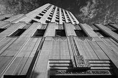 Medical Arts Building, Tacoma [Explore] (tacoma290) Tags: blackandwhite bw building stone nikon exterior grand highrise artdeco tacoma artdecoarchitecture medicalartsbuildingtacoma sunindecemberinwesternwashingtonyesithappens