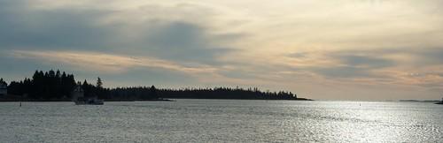 Bush Island sunset