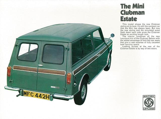1970 miniclubman miniburochure no2685